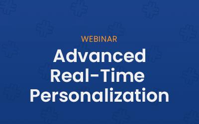 Advanced Realtime personalization