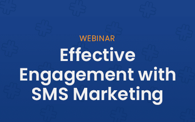 Effective engagement with SMS