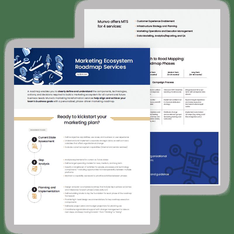 Marketing Ecosystem Roadmap Services