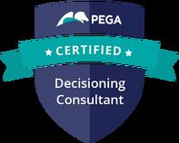 Pega Certified Decisioning Consultant